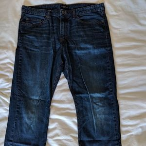 Banana Republic Men's Dark Wash Jean- 38W 32L slim